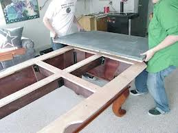 Pool table moves in Winchester Virginia